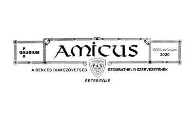 Amicus 2020 – Szombathelyi Szervezetünk értesítője